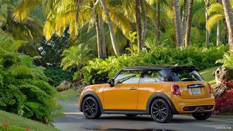 Mini Cooper 3 Door 4k Wallpapers by 2015 Mini Cooper S Yellow Rear Hd Wallpaper 162