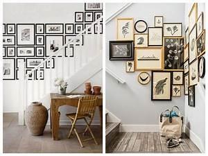 Idee Deco Photo : 5 bonnes id es d co pour pimper une cage d 39 escalier joli ~ Preciouscoupons.com Idées de Décoration