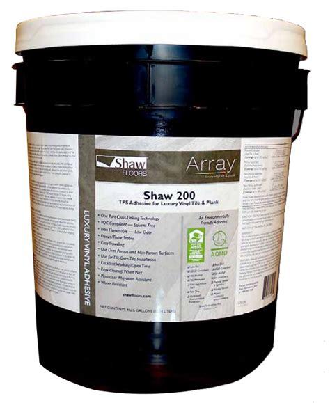 shaw flooring adhesives shaw luxury vinyl 200tps adhesive 1 gallon
