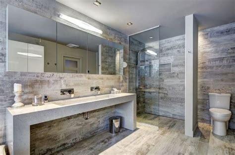carrelage sol salle de bain imitation bois paroi de en verre 233 clairage int 233 gr 233 et grand