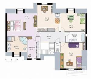 demeure familiale 2 detail du plan de demeure familiale With good plan de maison a etage 1 maison familiale 9 detail du plan de maison familiale 9