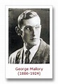 George Leigh Mallory Quotes. QuotesGram