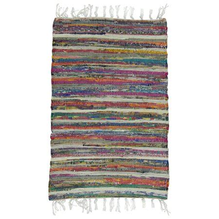 Rag Rugs Walmart by Rainbow Multicolored Reversible Rag Rug Walmart