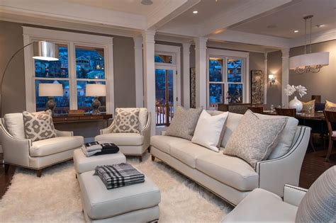 Large Living Room Ottoman by 47 Beautiful Living Rooms With Ottoman Coffee Tables
