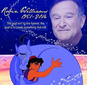 Aladdin and the Genie will live forever in this world and ...