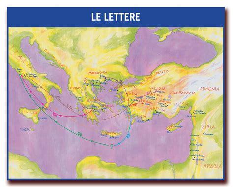 lettere san paolo i luoghi e le citt 224 delle lettere di paolo