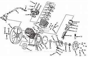 Campbell Hausfeld 4me98 Parts Diagram For Pump Parts