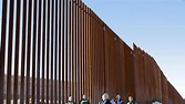 First section of Donald Trump's wall at Mexico border ...