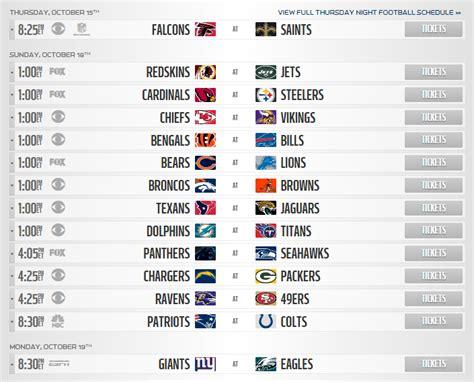 nfl playoffs  schedule images