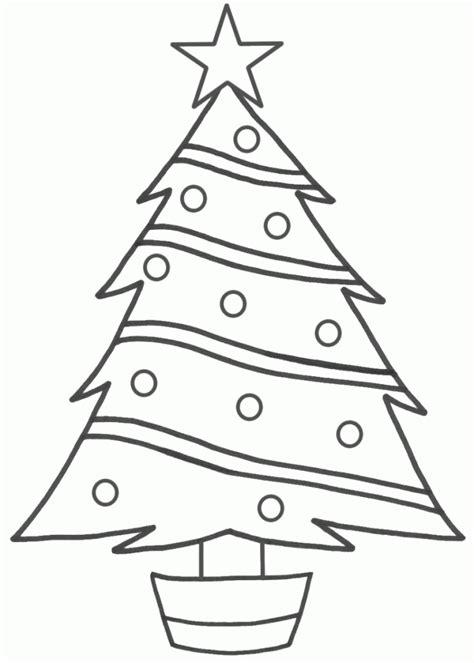 drawn christmas tree easy draw  clipart