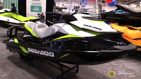 Seadoo Jet Boat Youtube by 2017 Sea Doo Gti Se 130 Jet Ski Walkaround 2017