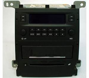 2005-2006 Cadillac Cts Factory Am  Fm Radio Cd Player
