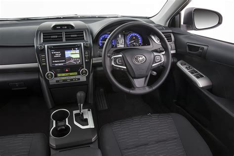 toyota camry interior toyota camry rz relaunched with sat nav and digital radio