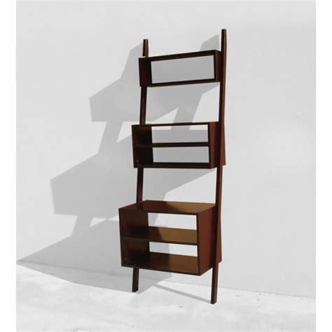 Angled Pyramidshaped Bookcase With 5 Shelves  Shop Cinius