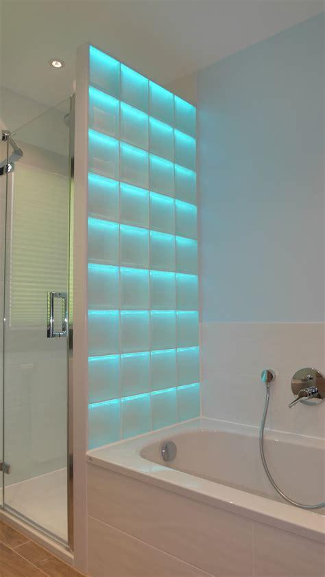 light  wall beleuchtete glassteine fuer den modernen