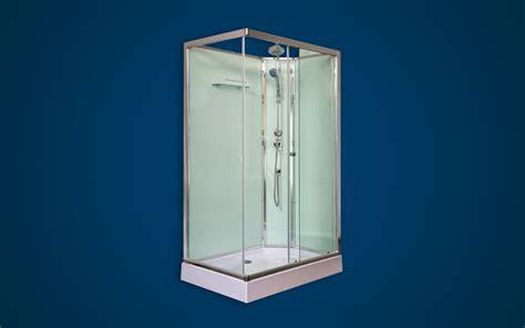 rectangular glass shower cubicle shower units geza