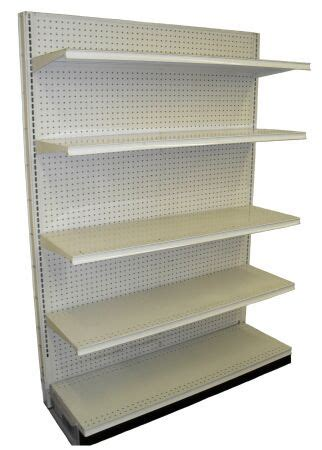 Shelves For Sale by Single Sided Gondola Shelving Store Fixtures Usa