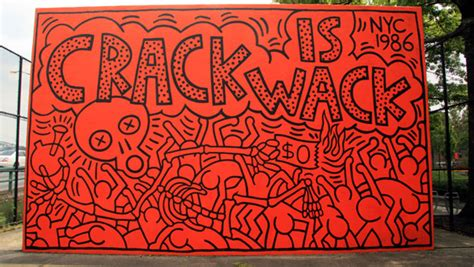 keith haring mural nyc a keith haring tour of new york city flavorwire