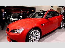 BMW M3 Coupe in Melbourne Red Metallic 2011 Geneva Motor