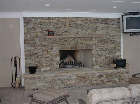 stack fireplace stacked for a fireplace simple home decoration