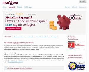 Tagesgeldzinsen Berechnen : moneyou bank tagesgeld testbericht und erfahrungen 07 2018 ~ Themetempest.com Abrechnung