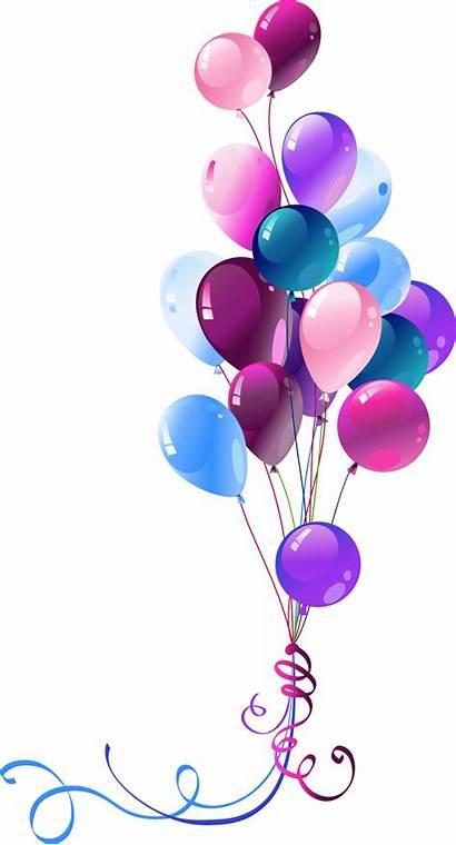 Balloons Transparent Balloon Birthday Clip Clipart Background