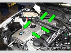 BMW E60 5Series Engine Covers Removal 2003 2010
