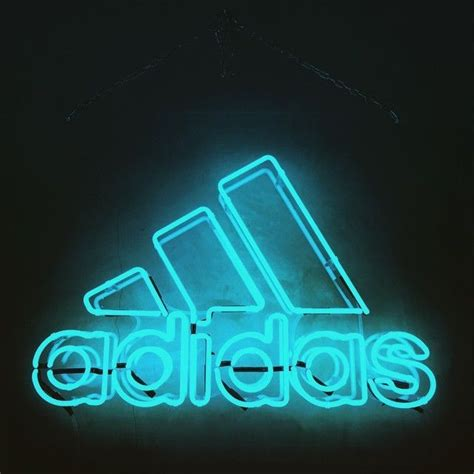 adidas neon light effects lights neon signs neon