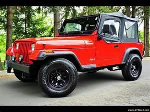 1993 Jeep Wrangler 4 Cylinder    New Clutch   5 Speed 5