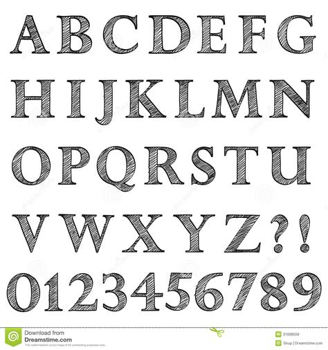 what letter of the alphabet is s doodle scribble sketch alphabet letters and digits stock 73350
