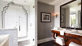 David Dangerous Art Deco Bathroom Messy Horrible Shower And This Is After I Cleaned It Excellence Black Slate Tile From B Q Natural Flooring Flooring 38mm B Q Avalon Black Textured Round Edge Kitchen Worktop L 3m D