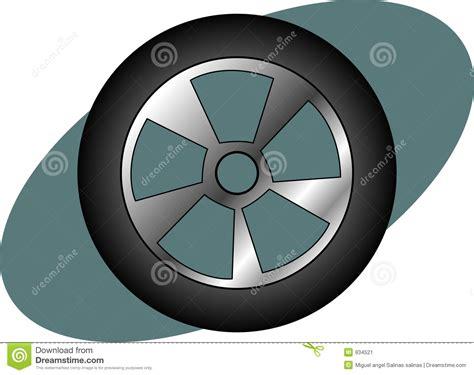 Car Tire Vector Illustration. Vector Illustration