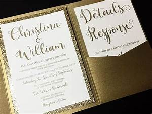 25 best ideas about gold wedding invitations on pinterest With samples of golden wedding invitations