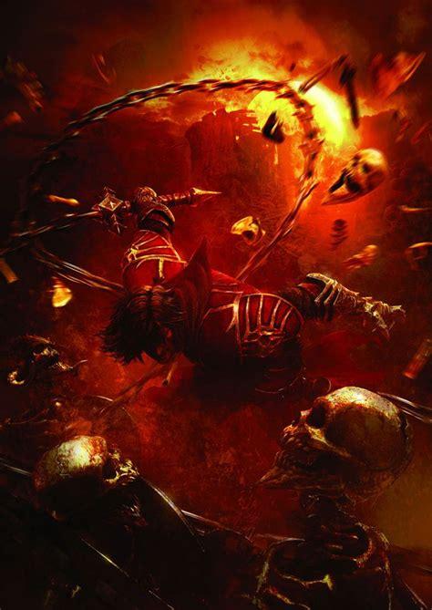 Gabriel Vs Skeletons Castlevania Lords Of Shadow Art