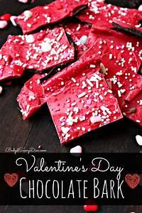 Valentine's Day Chocolate Bark Recipe  Valentines