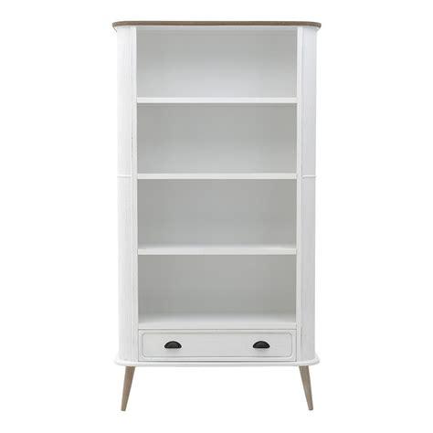 libreria legno bianco libreria country chic legno bianco librerie shabby offerte