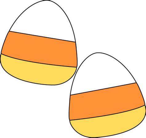 candy corn mini candyrn  adorable fuzzy plush  clipart