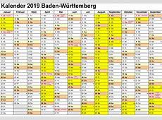 2019 Germany Calendar Template PDF, Excel, Word Public