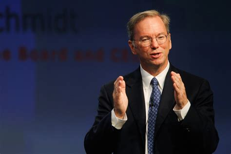 Eric Schmidt, Executive Chairman of Alphabet Is Eager for ...