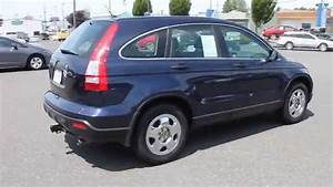 2007 Honda Cr-v  Blu  Blue - Stock  B3083