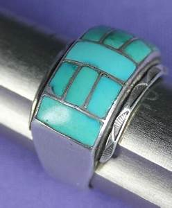 savvy collector zuni circa 1935 turquoise ring by artist With zuni wedding rings