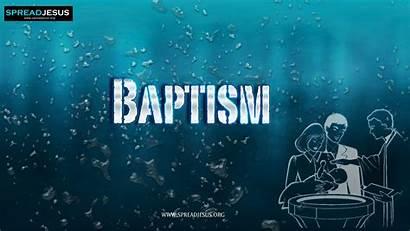 Baptism Wallpapers Catholic Seven Desktop Church Sacraments