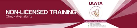 licensed training asbestos health safety training