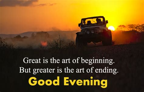 inspirational good evening images  quotes lines