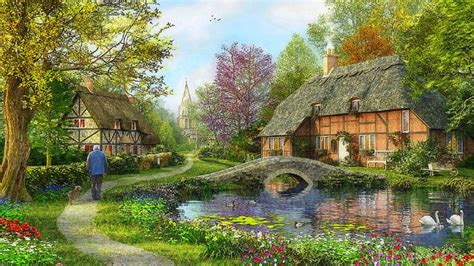 country cottage wallpaper cottage wallpaper gallery