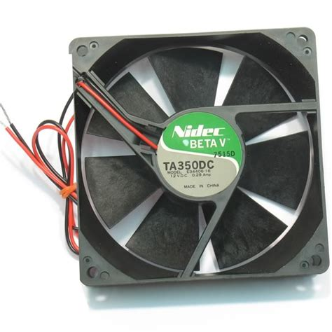 nidec ta350dc fan electronic goldmine nidec 92mm ta350dc 12vdc fan