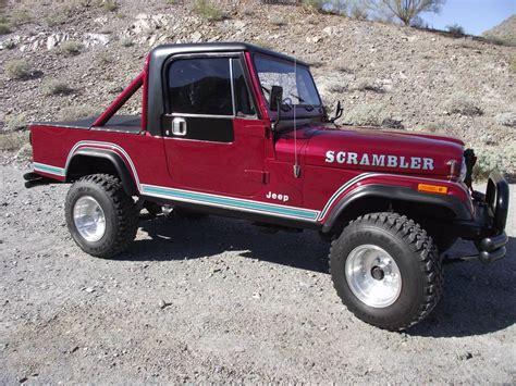 amc jeep scrambler 100 amc jeep scrambler 25 000 original miles 1985