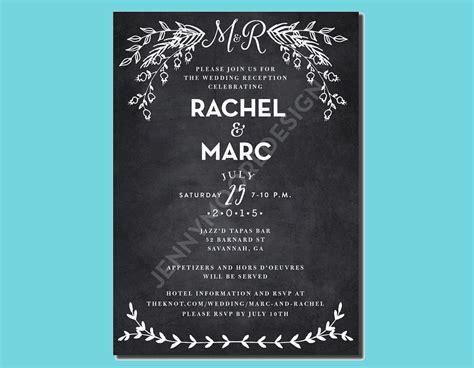 wedding party invitation designs examples