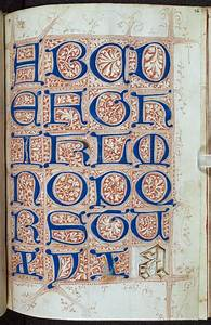 calling all manuscript sleuths the macclesfield alphabet With manuscript letters