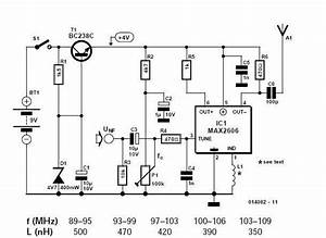 best of fm transmitter circuits circuit wiring diagrams With two transistors wireless microphone fm transmitter circuit schematic diagram